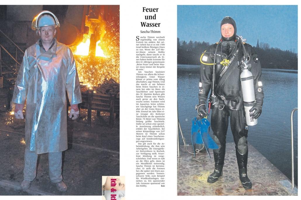 03.03.2015 Feuer und Wasser | Borken, Tauch Club Maritim e.V.