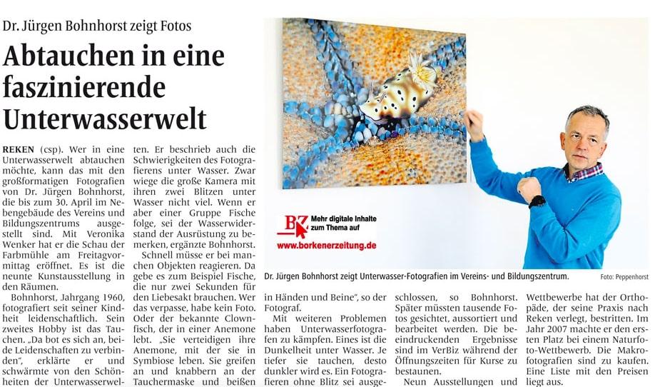 16.02.2019 Abtauchen in eine faszinierende Unterwasserwelt | Borken, Tauch Club Maritim e.V.